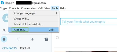 Xóa lịch sử chat trên Skype ảnh 1