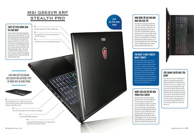 MSI Stealth Pro - laptop chơi game mỏng nhất 2016 ảnh 1