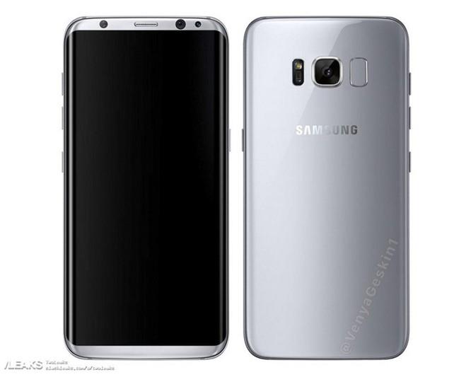 """Lô-gô 'SAMSUNG' sẽ như """"banner trên trán"""" Galaxy S8 ảnh 2"""