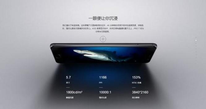 Meizu Pro 7: Smartphone 4K, RAM 8GB, giá 552USD ảnh 1