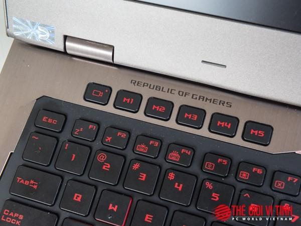Cận cảnh laptop chơi game Asus ROG G701VI giá 85 triệu đồng ảnh 11