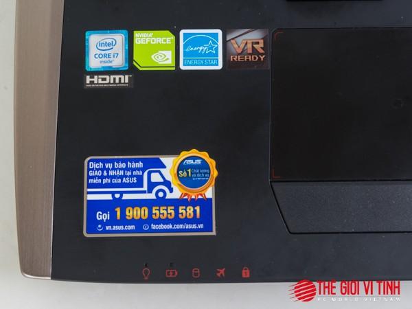 Cận cảnh laptop chơi game Asus ROG G701VI giá 85 triệu đồng ảnh 7