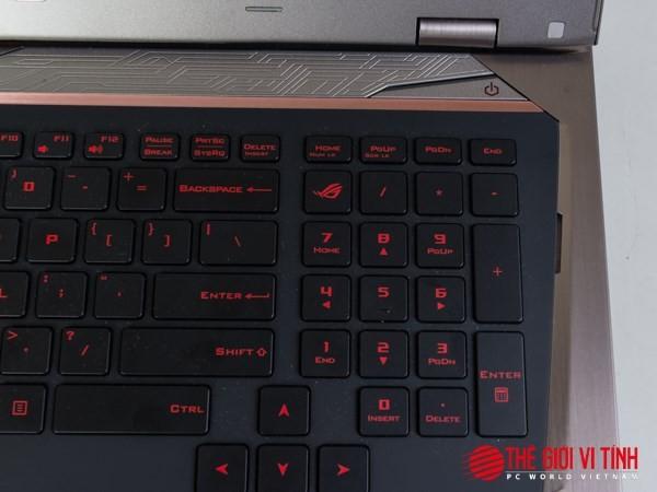 Cận cảnh laptop chơi game Asus ROG G701VI giá 85 triệu đồng ảnh 12