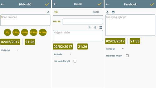 Lên lịch gửi tin nhắn trên thiết bị Android ảnh 3