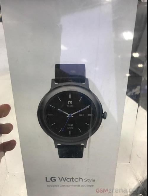 Lộ diện đồng hồ thông minh LG Watch Style ảnh 1