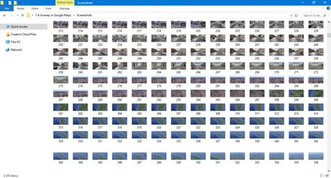 Đẹp sửng sốt video hyperlapse từ 3.305 ảnh Google Maps ảnh 1