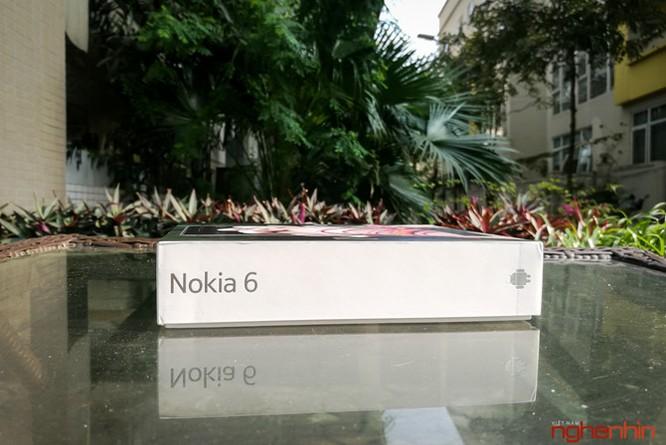 Xem kỹ chiếc Nokia 6 đầu tiên xách tay về Việt Nam ảnh 3