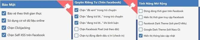 Tiện ích tắt thông báo 'Đã xem', 'Đang trả lời tin nhắn' Facebook ảnh 2