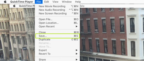Quay màn hình Macbook cực dễ với QuickTime Player ảnh 7