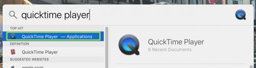 Quay màn hình Macbook cực dễ với QuickTime Player ảnh 1