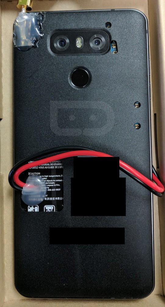 LG G6 lần đầu lộ ảnh thực tế ảnh 1
