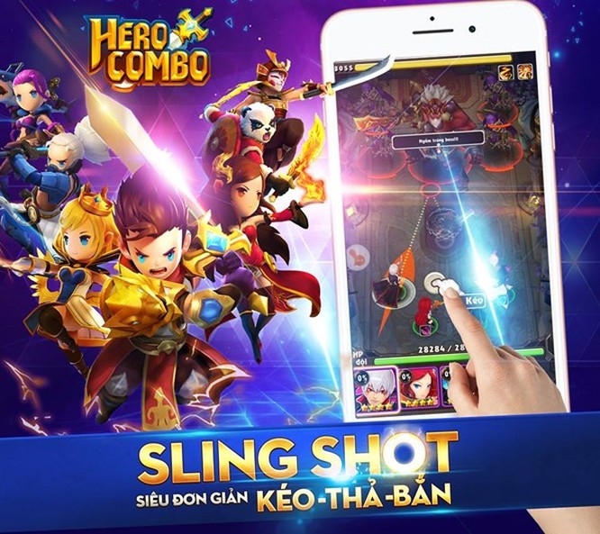 Hero Combo: Chào đón dạng game bắn bi kéo thả ảnh 3