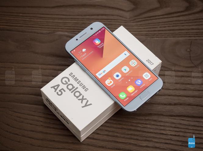 Đánh giá thời lượng pin Galaxy A5 2017: Xuất sắc! ảnh 1