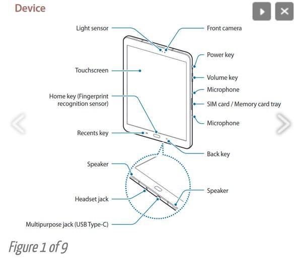 Galaxy Tab S3 lộ nhiều tính năng mới hấp dẫn ảnh 1