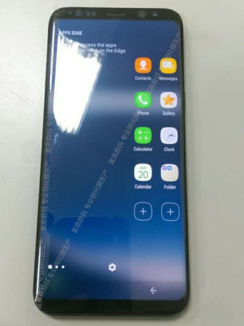 Tiếp tục rò rỉ ảnh thực tế Samsung Galaxy S8 ảnh 1