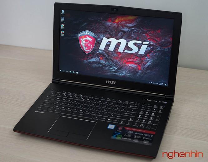 Trên tay gaming laptop MSI GP62 7RD giá 26 triệu ảnh 9