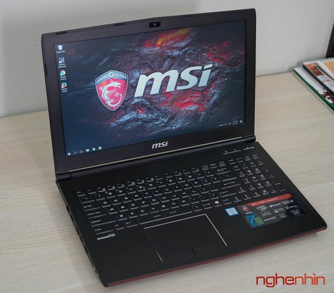 Trên tay gaming laptop MSI GP62 7RD giá 26 triệu ảnh 10