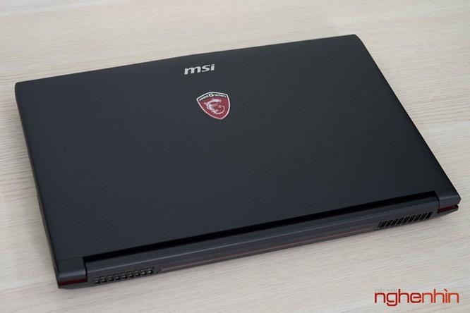 Trên tay gaming laptop MSI GP62 7RD giá 26 triệu ảnh 6