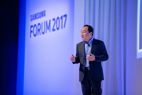 SEAO Forum 2017: Samsung trình diễn nhiều thiết bị công nghệ mới ảnh 1
