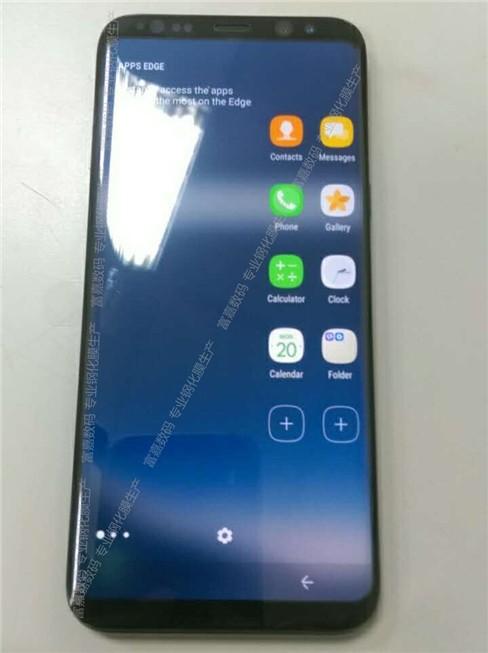 Samsung Galaxy S8 tiếp tục lộ ảnh thực tế ảnh 1
