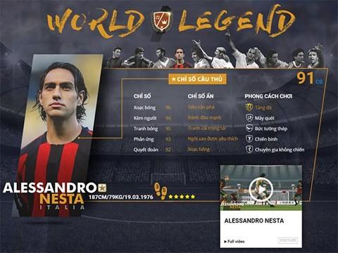 Điểm mặt 10 danh thủ huyền thoại vừa xuất hiện trong FIFA Online 3 ảnh 1