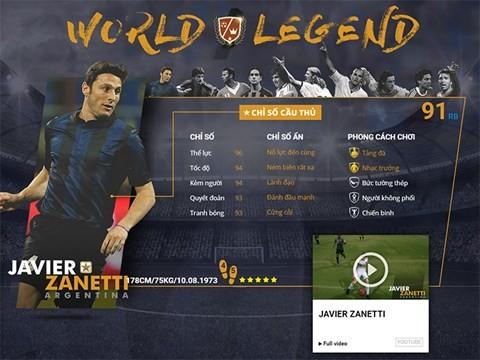 Điểm mặt 10 danh thủ huyền thoại vừa xuất hiện trong FIFA Online 3 ảnh 2