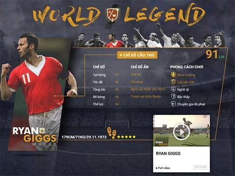 Điểm mặt 10 danh thủ huyền thoại vừa xuất hiện trong FIFA Online 3 ảnh 3