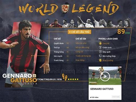 Điểm mặt 10 danh thủ huyền thoại vừa xuất hiện trong FIFA Online 3 ảnh 4