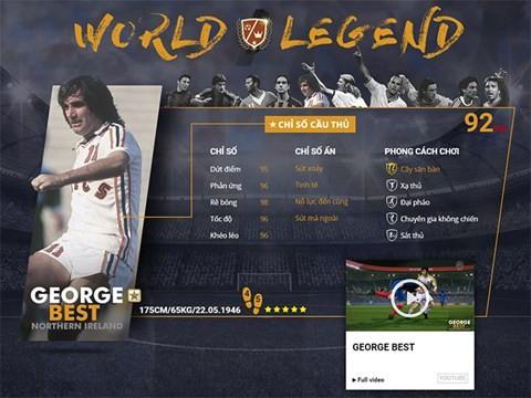 Điểm mặt 10 danh thủ huyền thoại vừa xuất hiện trong FIFA Online 3 ảnh 5