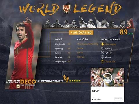 Điểm mặt 10 danh thủ huyền thoại vừa xuất hiện trong FIFA Online 3 ảnh 7