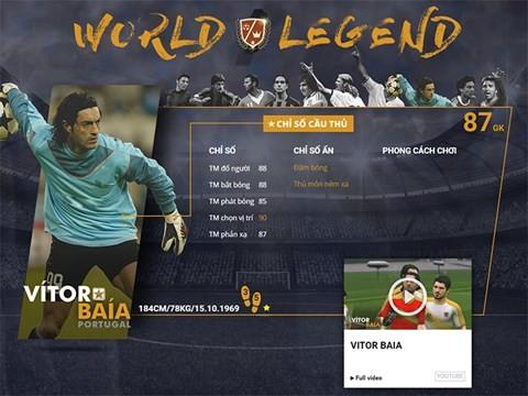 Điểm mặt 10 danh thủ huyền thoại vừa xuất hiện trong FIFA Online 3 ảnh 8