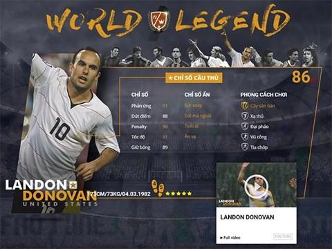 Điểm mặt 10 danh thủ huyền thoại vừa xuất hiện trong FIFA Online 3 ảnh 9