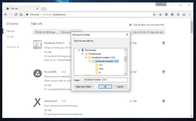 """""""Mở khóa"""" một số tính năng ẩn thú vị của Facebook với Facebook Tweaker ảnh 4"""