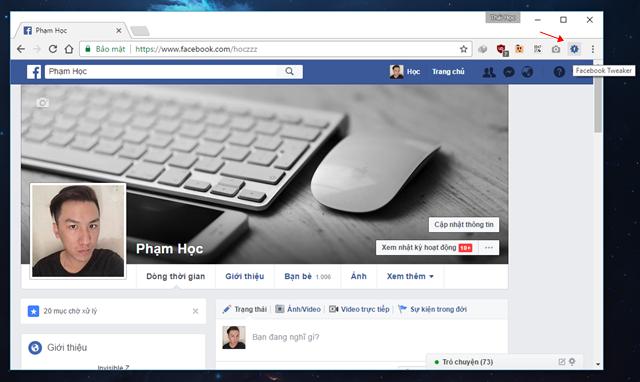 """""""Mở khóa"""" một số tính năng ẩn thú vị của Facebook với Facebook Tweaker ảnh 6"""