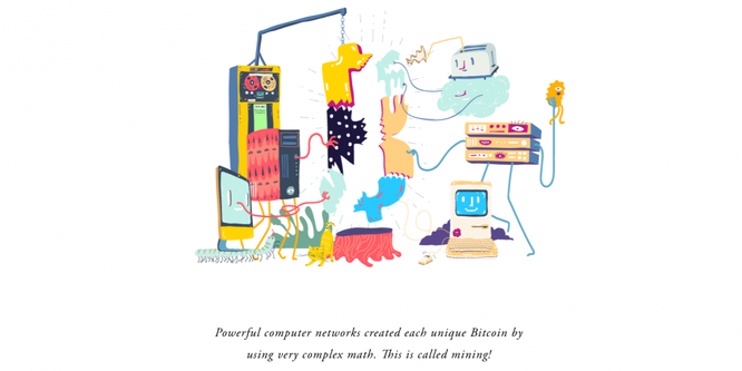 Tìm hiểu về Bitcoin qua những hình vẽ hoạt hình ngộ nghĩnh ảnh 5