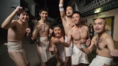 Thanh niên Nhật tưng bừng trong lễ hội khỏa thân lớn nhất trong năm ảnh 5