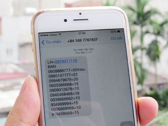 """Rộ dịch vụ gửi tin nhắn rác chỉ 40 đồng/SMS, khách hàng bị """"dội bom"""" cả ngày ảnh 1"""