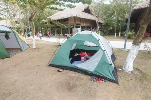 Hai điểm cắm trại cho gia đình gần Hà Nội ảnh 2