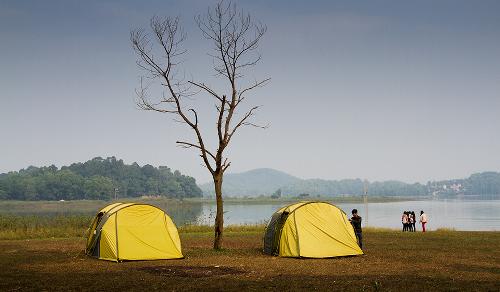 Hai điểm cắm trại cho gia đình gần Hà Nội ảnh 1