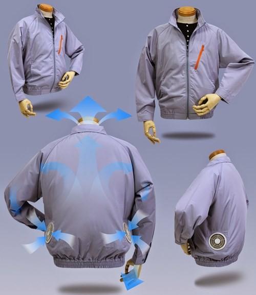 Áo điều hòa, áo chống nắng tiền triệu bung hàng tới tấp ảnh 1