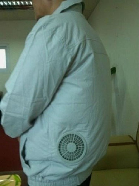 Áo điều hòa, áo chống nắng tiền triệu bung hàng tới tấp ảnh 3