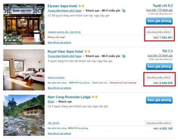 Khách sạn 3 sao ở Sapa hét giá 46 triệu/đêm ngày 30/4 ảnh 2