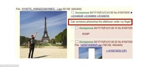 """""""Chết cười"""" với ảnh chế cùng tháp Eiffel của cư dân mạng ảnh 2"""