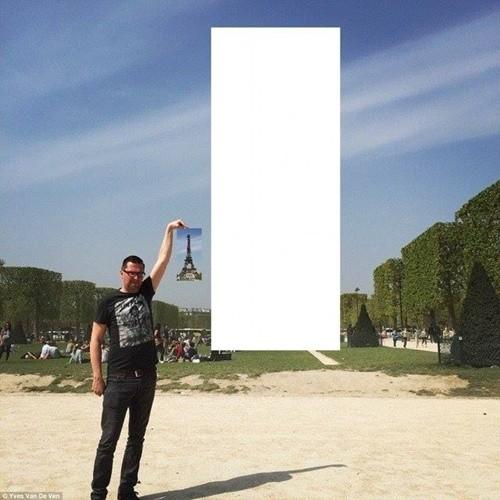 """""""Chết cười"""" với ảnh chế cùng tháp Eiffel của cư dân mạng ảnh 4"""