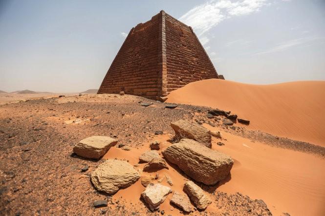 """Độc đáo quần thể kim tự tháp """"bị lãng quên"""" ở Sudan ảnh 10"""