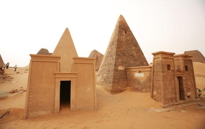 """Độc đáo quần thể kim tự tháp """"bị lãng quên"""" ở Sudan ảnh 2"""