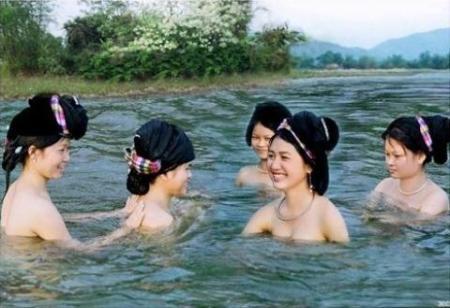 """Những kiểu """"tắm tiên"""" khác nhau trong văn hóa phương Đông ảnh 4"""