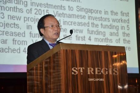Bộ trưởng Hoàng Tuấn Anh: Sơn Đoòng gây ấn tượng mạnh tại Singapore ảnh 1