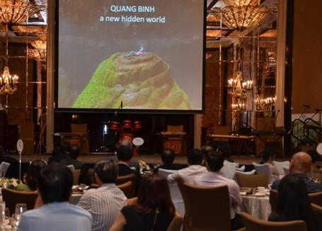 Bộ trưởng Hoàng Tuấn Anh: Sơn Đoòng gây ấn tượng mạnh tại Singapore ảnh 2