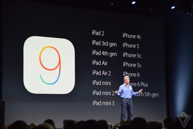 10 công bố quan trọng nhất tại sự kiện WWDC 2015 của Apple ảnh 2
